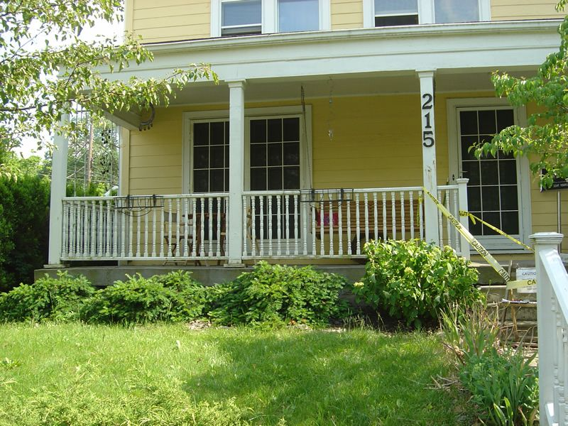 Columbus Oh Clintonville Replace Porch Stairs Amp Sidewalk