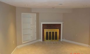 Columbus OH Clintonville Finished Basement
