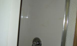 Hilliard OH Cultured Marble Shower