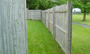Westerville OH Replace Privacy Fence, Deck & Slider Patio Door